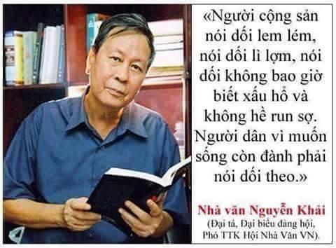 Danh ngon Nguyen Khai noi về CS