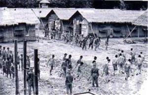Trại tù cải tạo của CS bắc việt (Hình minh họa)