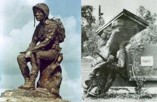 Nghĩa Trang Quân Đội Biên Hòa- hình chụp trước và sau ngày Quốc hận 30-4-1975
