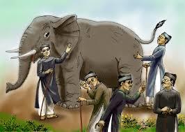 Thầy bói sờ voi! - Hình minh họa