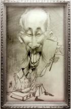[Hình Internet, họa sĩ quốc tế biếm họa chân dung HC Minh! -posted by tunhan]