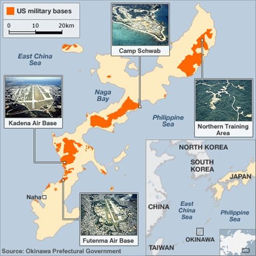 Mỹ trả lại Okinawa
