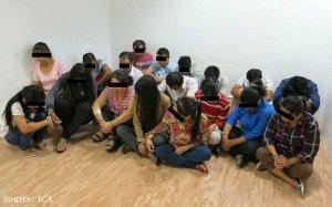 Hình minh họa, một nhóm dân nhập cư bất hợp pháp [posted by tunhan]